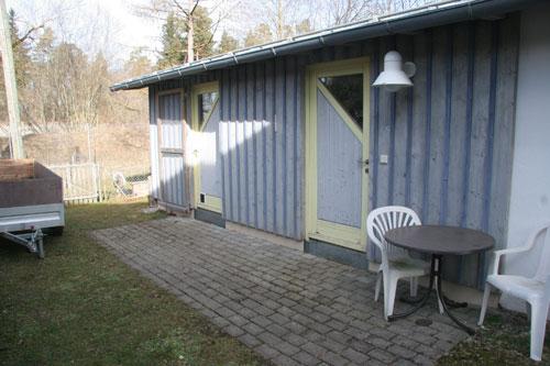 Igelhaus und Werkstatt